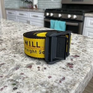 Off white Virgil industrial long belt